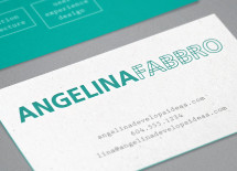Branding: Angelina Fabbro