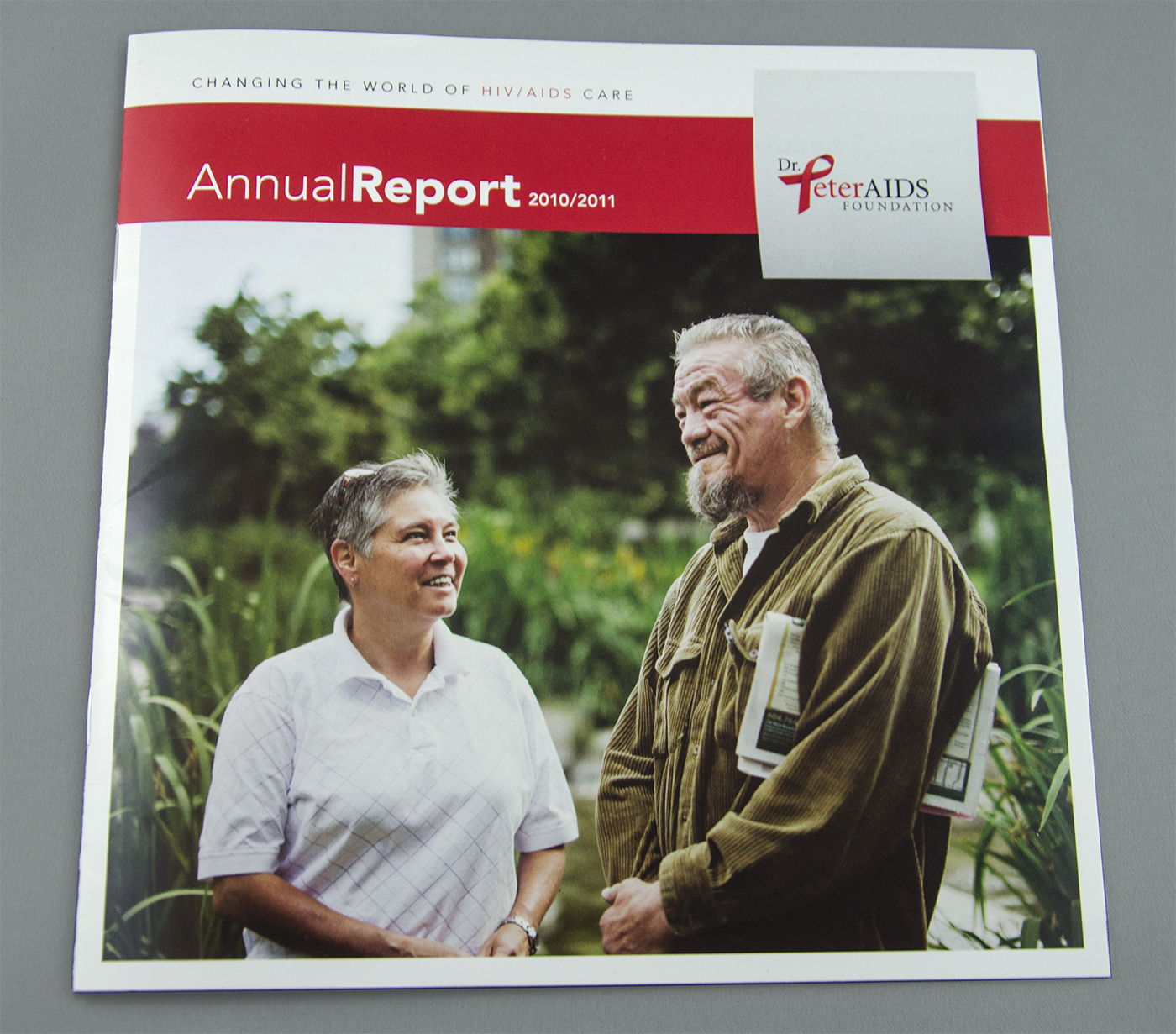 Cover: Dr. Peter Annual Report 2011