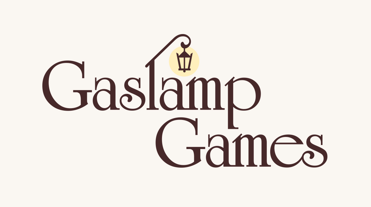 Gaslamp Games branding : logo