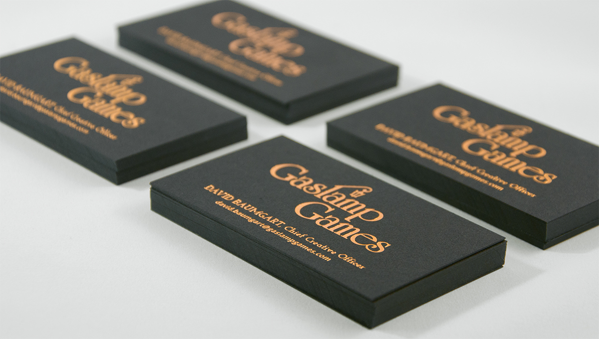 Gaslamp Games Branding & Business Card Design