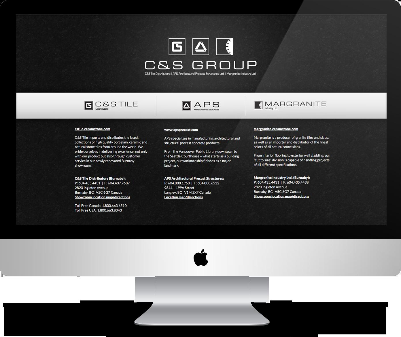 Ceramstone.com - landing page