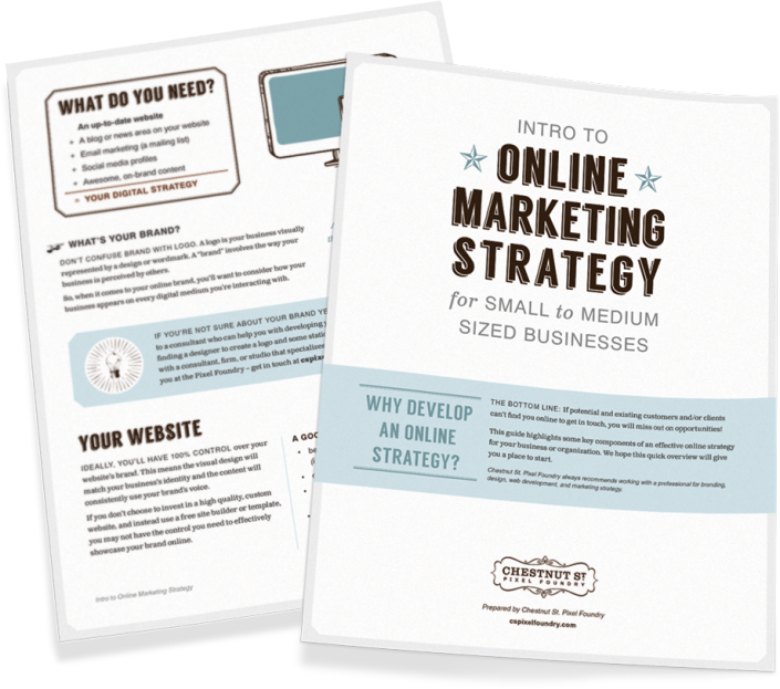 Intro to Online Marketing Strategy for Small to Medium Sized Businesses