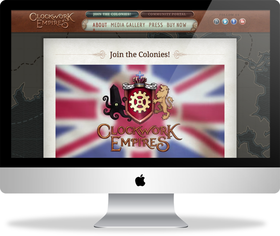 Join the Colonies! Clockwork Empires is a steampunk city-builder game with cosmic horror elements.