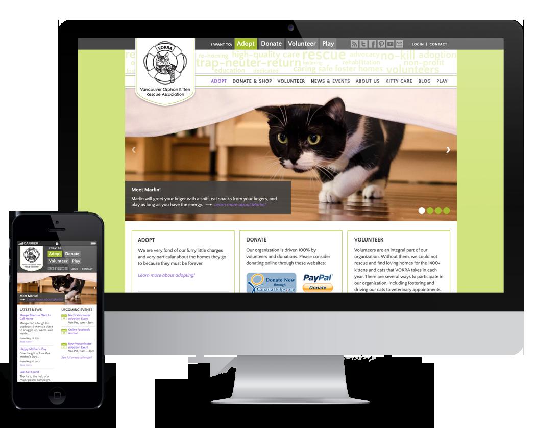 VOKRA homepage